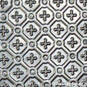 savannah Pressed Metal Panel Close Up