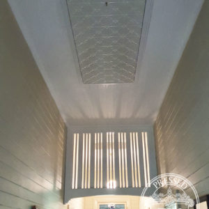 Pressed Tin Panels Clover Ceiling Feature