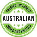 Australian Owned Pressed Tin Panels