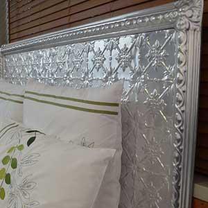 Pressed Tin Panels Bed Head Original