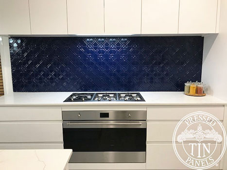 PressedTinPanels_Maze_kitchenSplashback_Blue_MichelleJones2